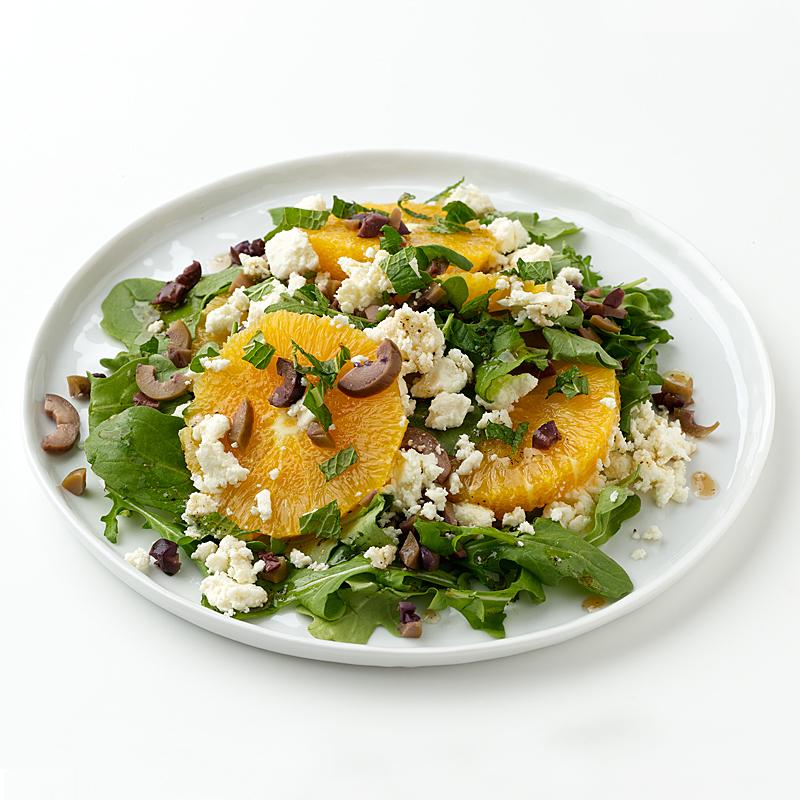 Photo of Orange, Olive and Feta Salad by WW