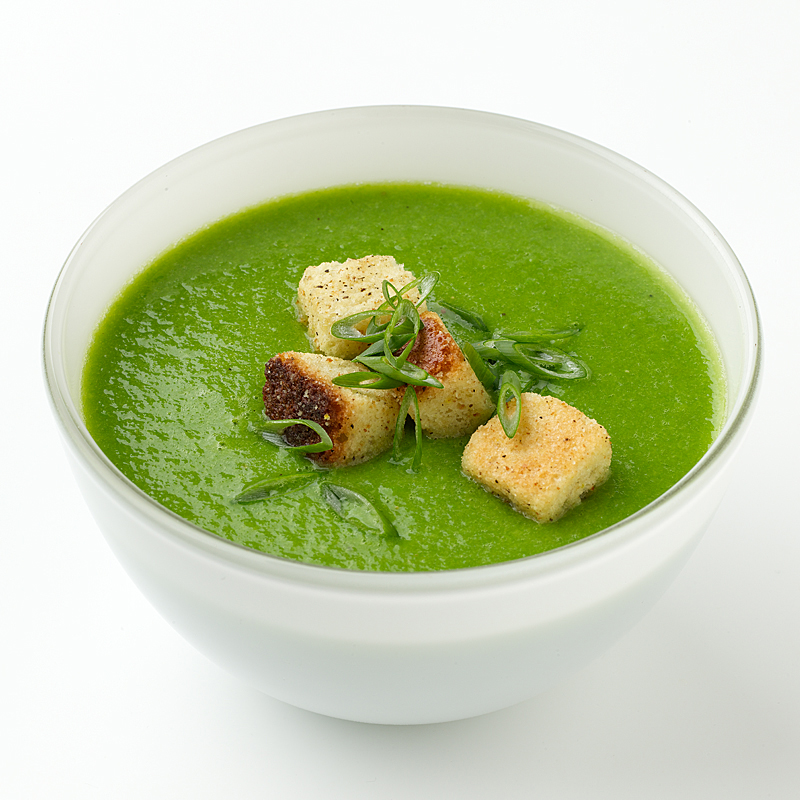 Photo of Pureed Pea Soup by WW