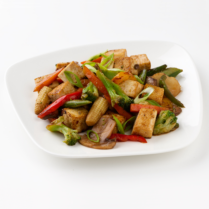 Photo of Stir-Fried Tofu with Chinese Veggies by WW