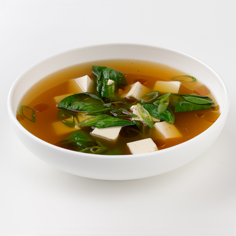 Photo of Tofu and Spinach Soup by WW