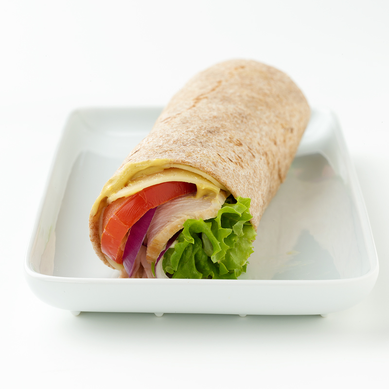 Photo of Turkey and Cheese Wrap by WW
