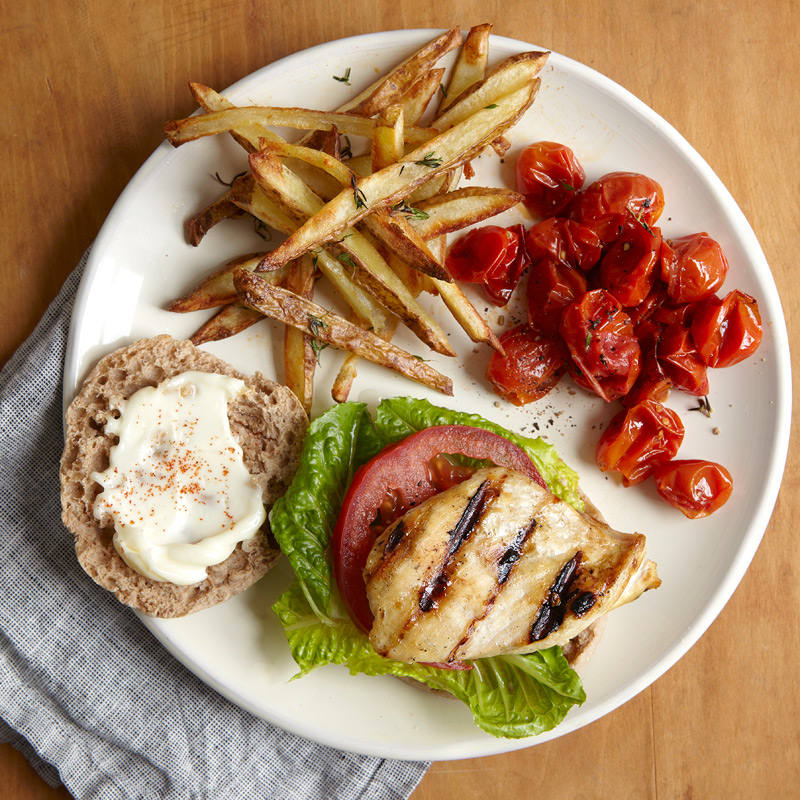 Photo of Chicken Sandwich & Fries  by WW