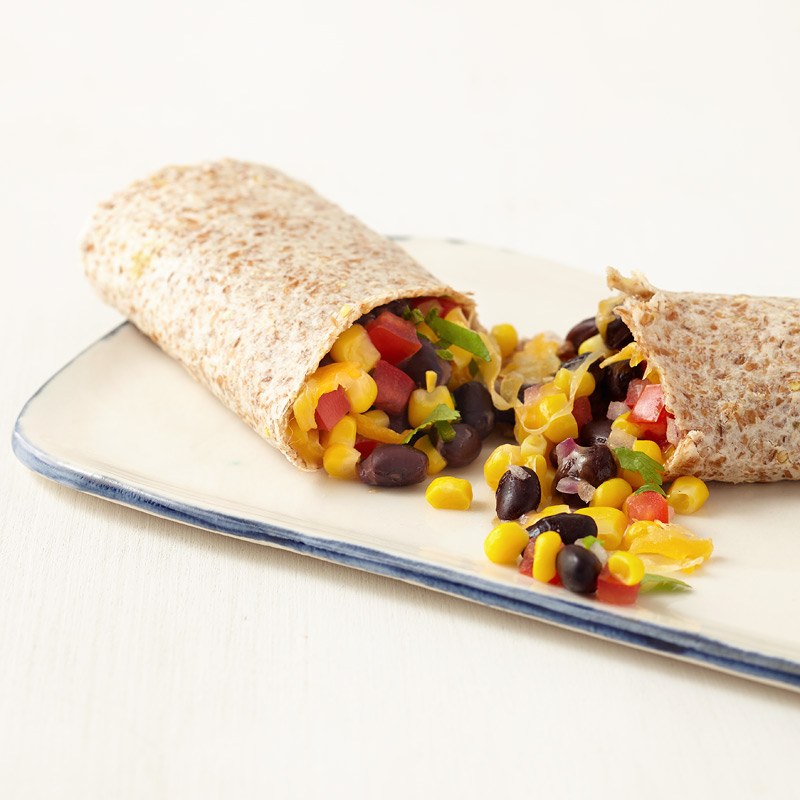 Photo of Corn and Black Bean Burrito   by WW