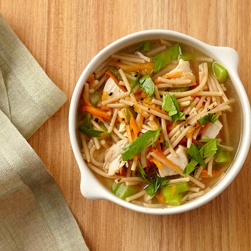 Photo of Quick Chicken Noodle Soup    by WW