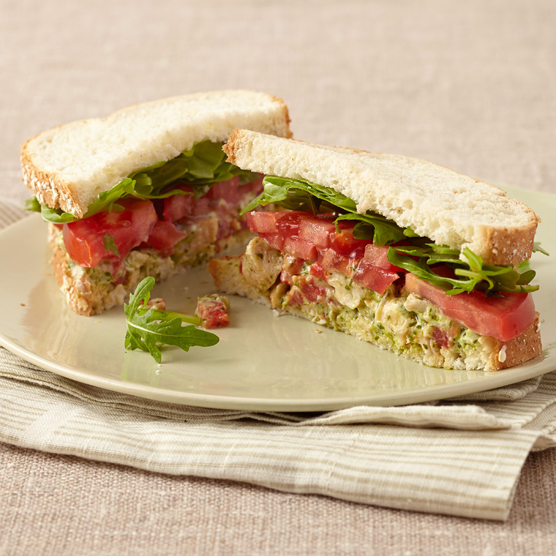 Photo of Italian Chicken Salad Sandwich   by WW
