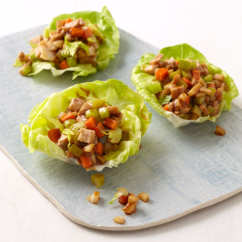 Photo of Asian-Style Lettuce Wraps  by WW