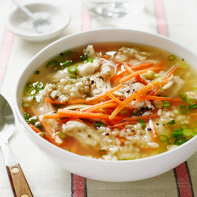 Photo of Chicken-Rice Soup  by WW