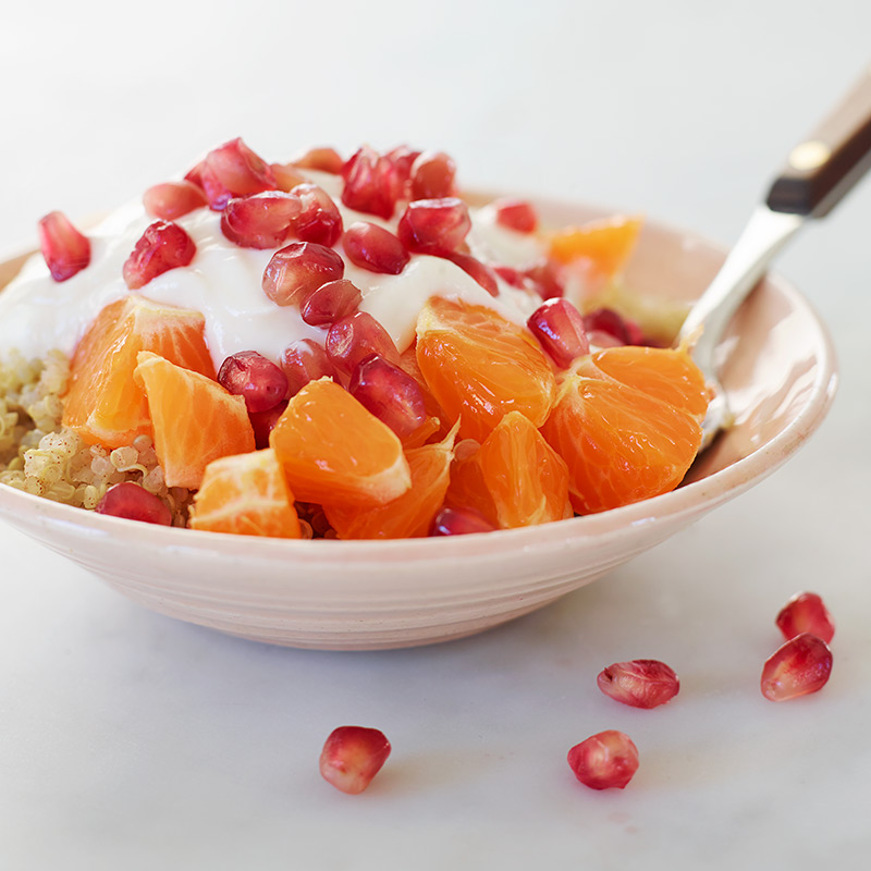 Photo of Citrus and Pomegranate Quinoa Bowl by WW
