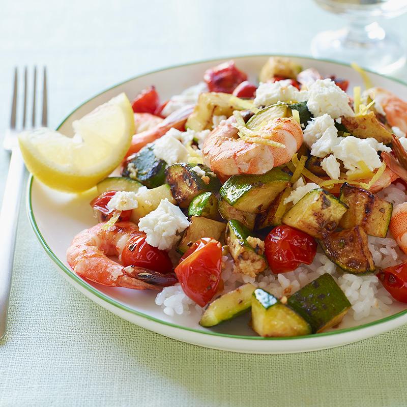 Photo of Greek Shrimp Sauté with Rice by WW