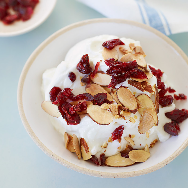 Photo of Yogurt with Cranberries and Almonds by WW
