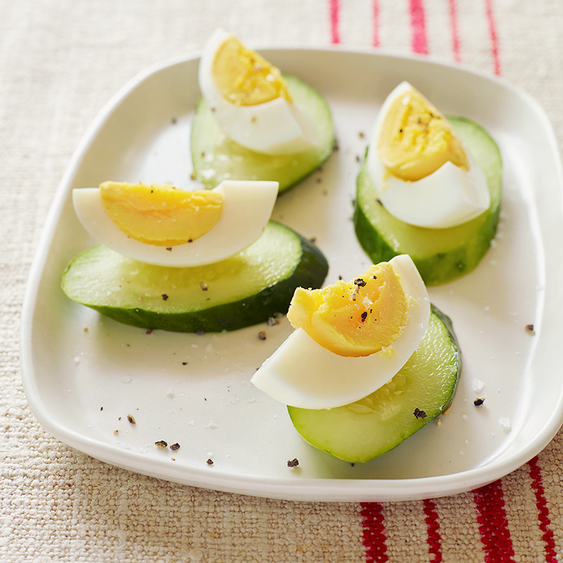 Photo of Eggs with Cucumber Rounds by WW