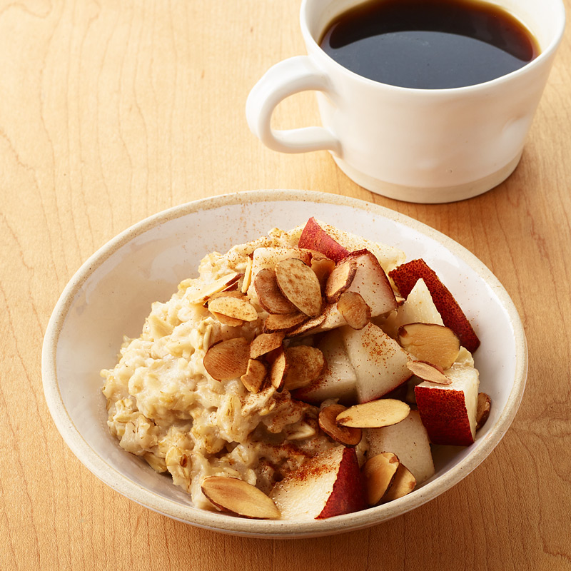 Photo of Pear-Almond Oatmeal  by WW