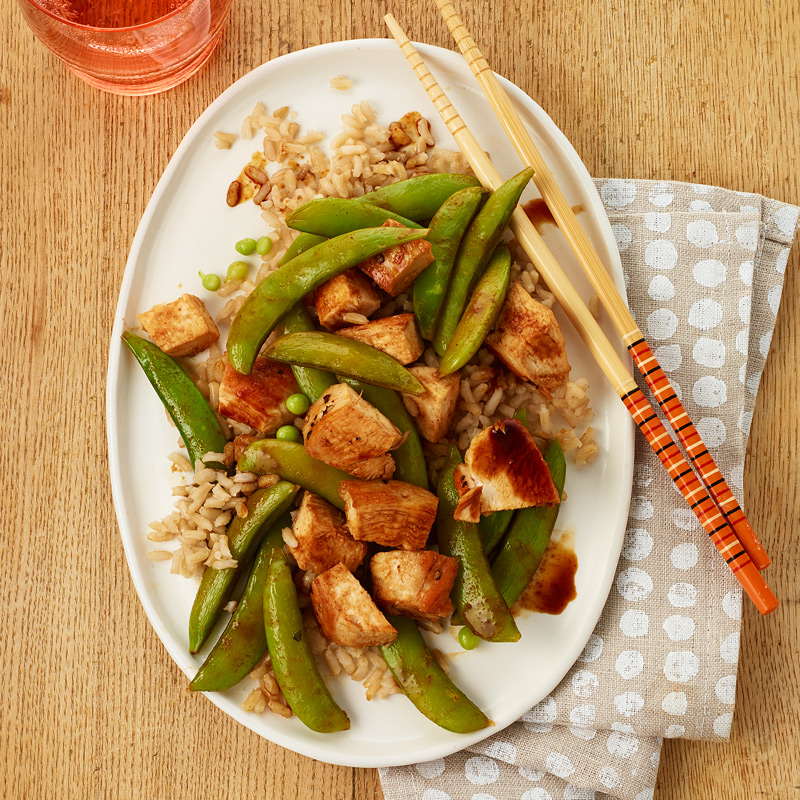 Photo of Teriyaki Chicken with Rice and Vegetables by WW