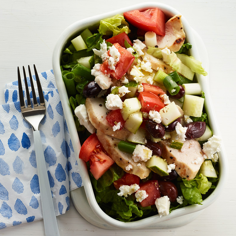 Photo of Chopped Greek Chicken Salad by WW