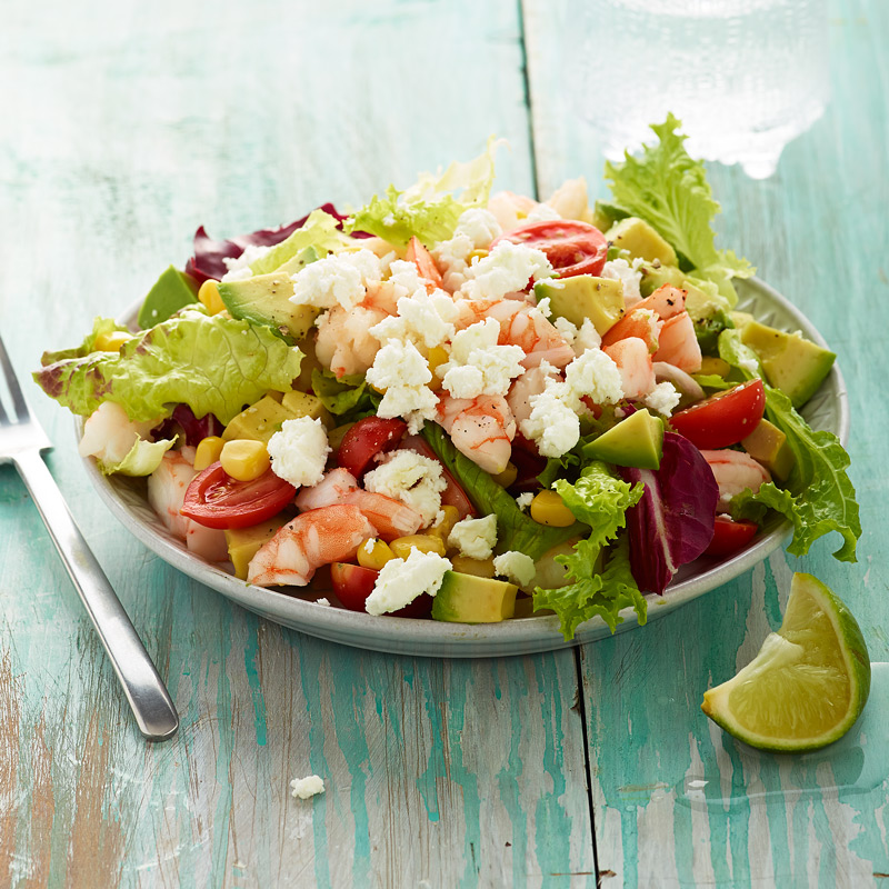 Photo of Tex-Mex Shrimp Salad with Fresh Lime by WW