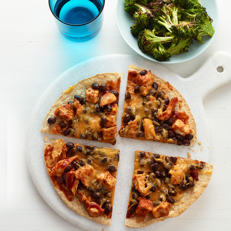 Photo of BBQ Chicken Pizza with Roasted Broccoli by WW