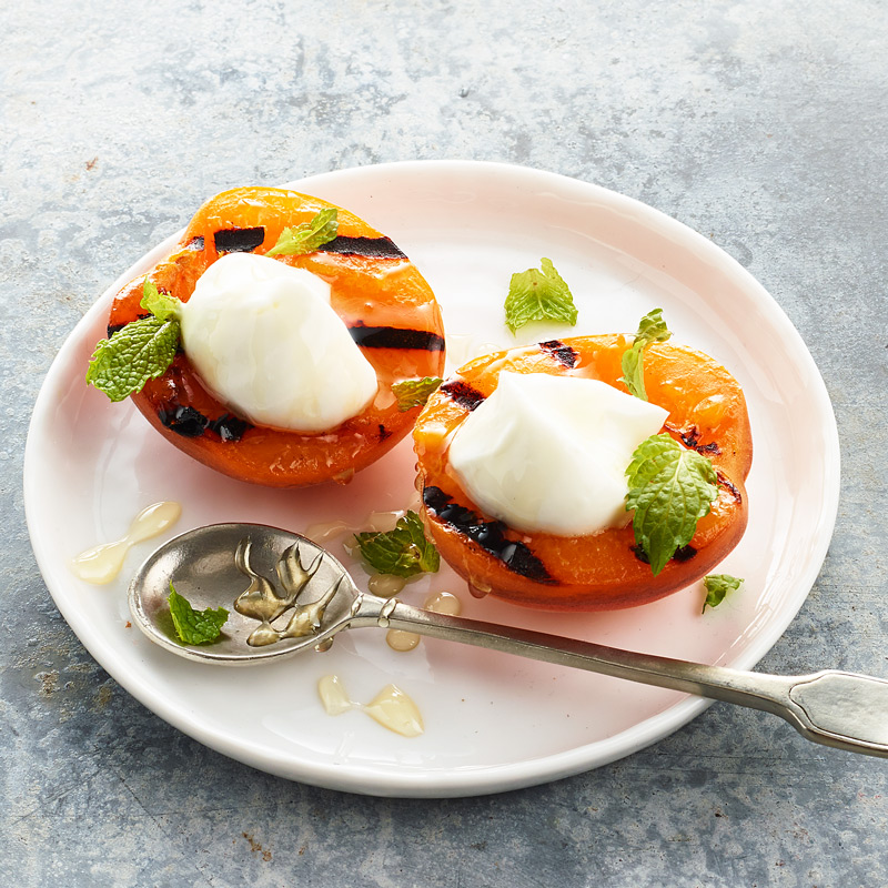 Photo of Grilled Apricot with Yogurt and Honey by WW