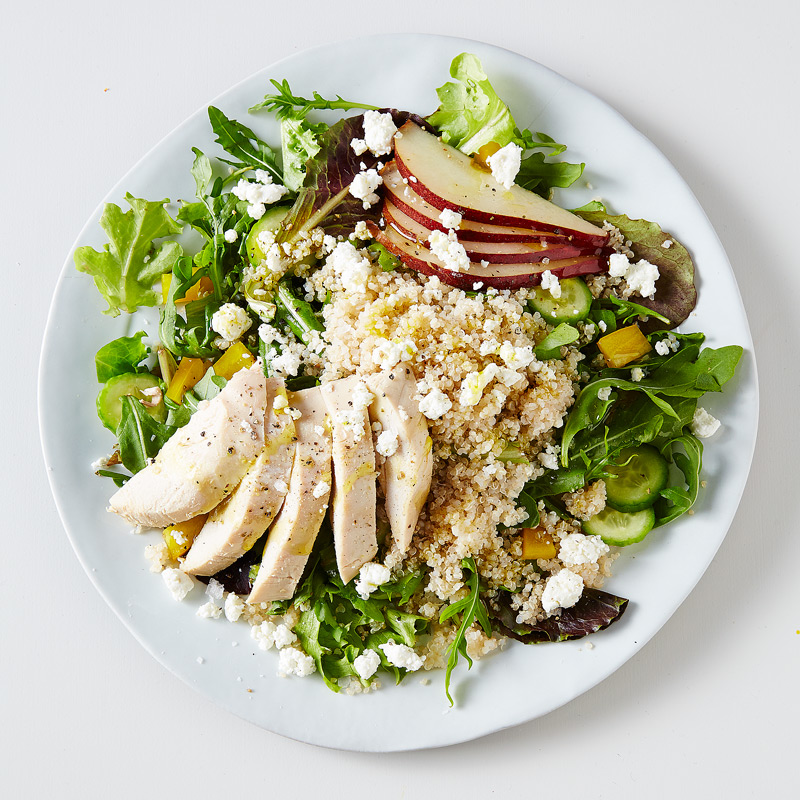 Photo of Roasted Chicken, Quinoa and Vegetable Salad by WW