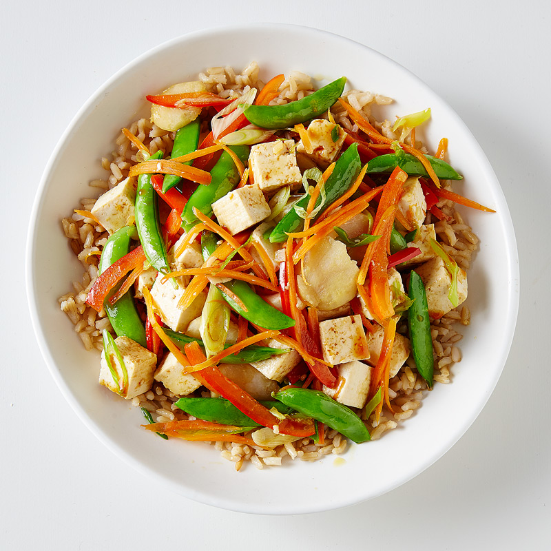 Photo of Tofu and Four Vegetable Stir-Fry   by WW