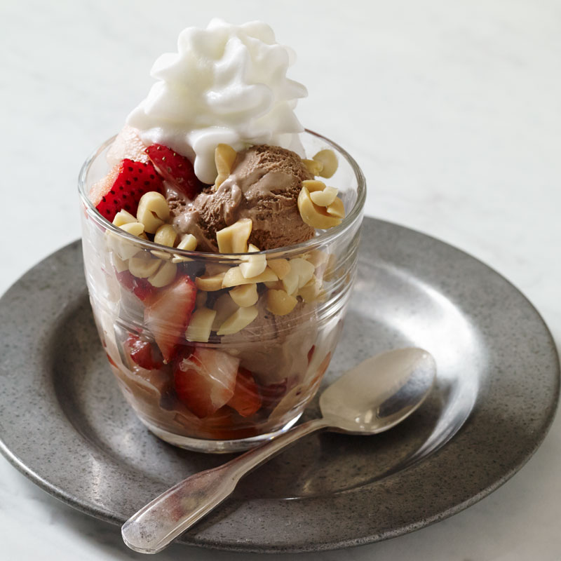 Photo of Chocolate Ice Cream Sundae by WW