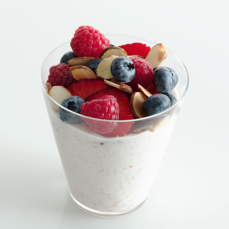 Photo of Almond-Berry Overnight Muesli Parfait by WW