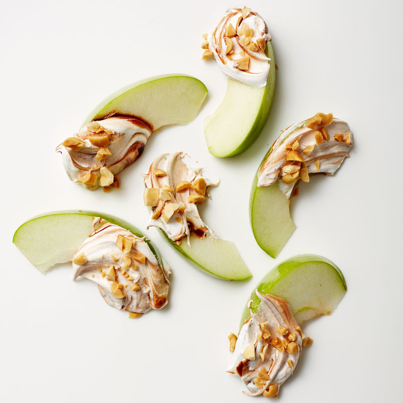 Photo of Apples with Chocolate-Peanut Dip by WW