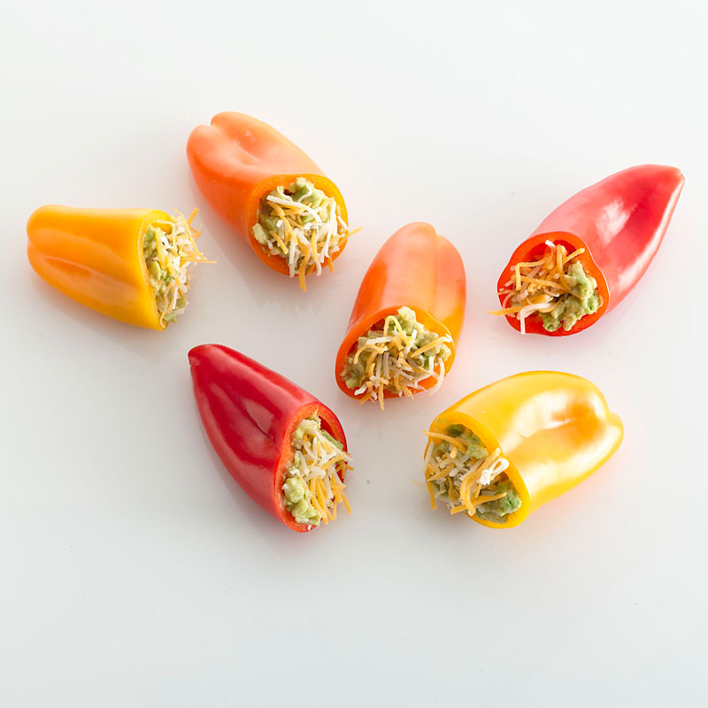 Photo of Mexican-Stuffed Baby Bell Peppers by WW