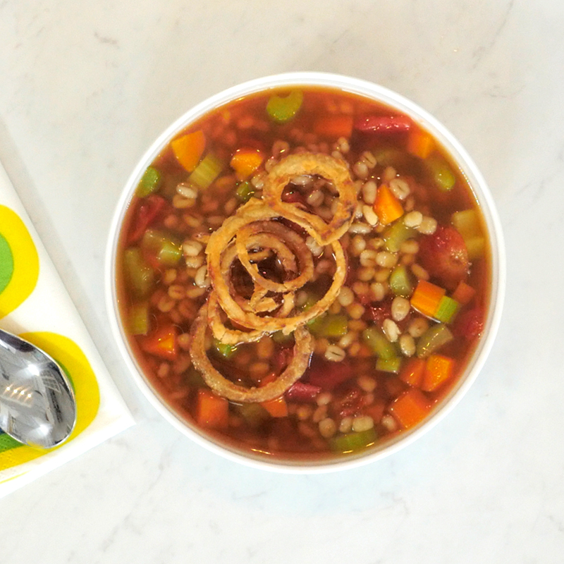 Photo of Beef Barley Soup by WW
