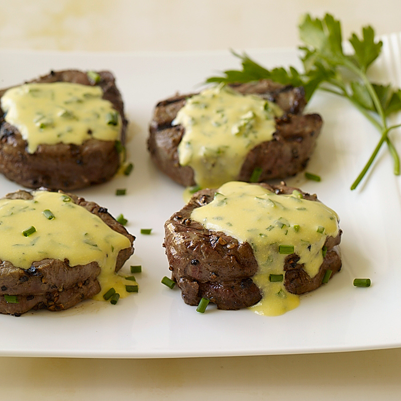 Photo de Filet mignon nappé de sauce béarnaise par WW