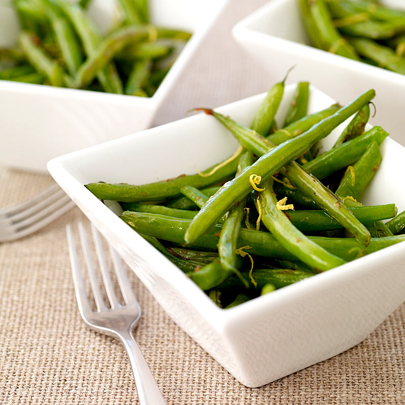 Photo de Haricots verts au citron et gingembre par WW