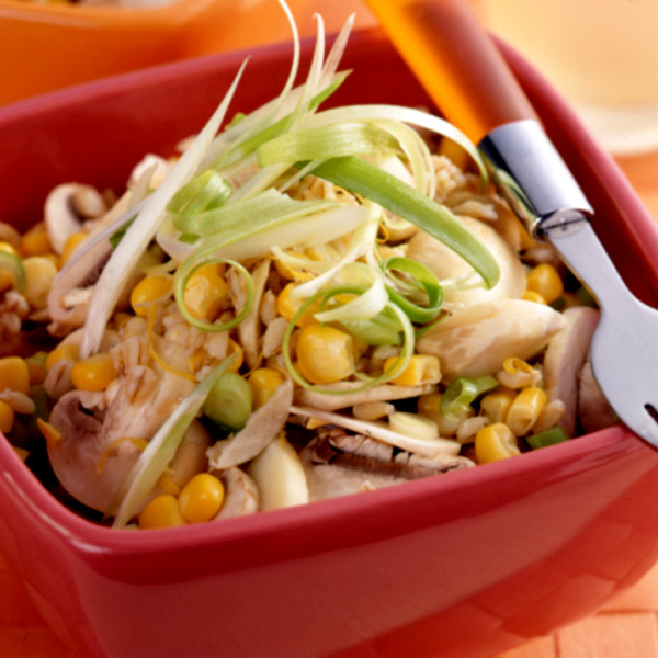 Photo of Mushroom Barley Salad by WW