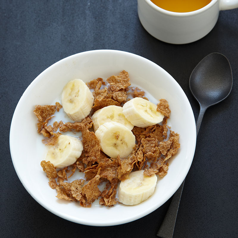 Photo of Cold Cereal with Fresh Fruit and Milk by WW