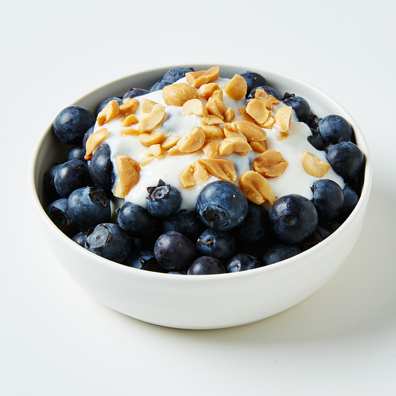 Photo of Peanutty Vanilla Yogourt with Blueberries by WW