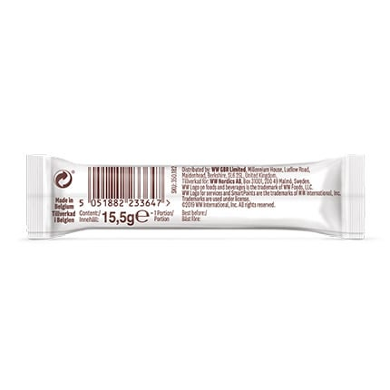 Belgian Milk Chocolate & Mixed Nuts Bar - back of pack