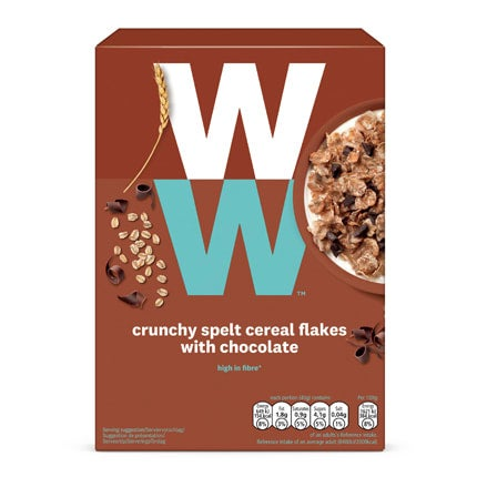 Crunchy Spelt Cereal Flakes with Chocolate