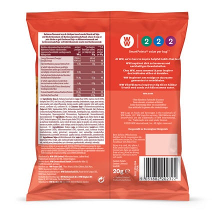 BBQ Savoury Snacks - back of pack