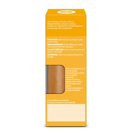Honey and Mustard Dressing - side of pack