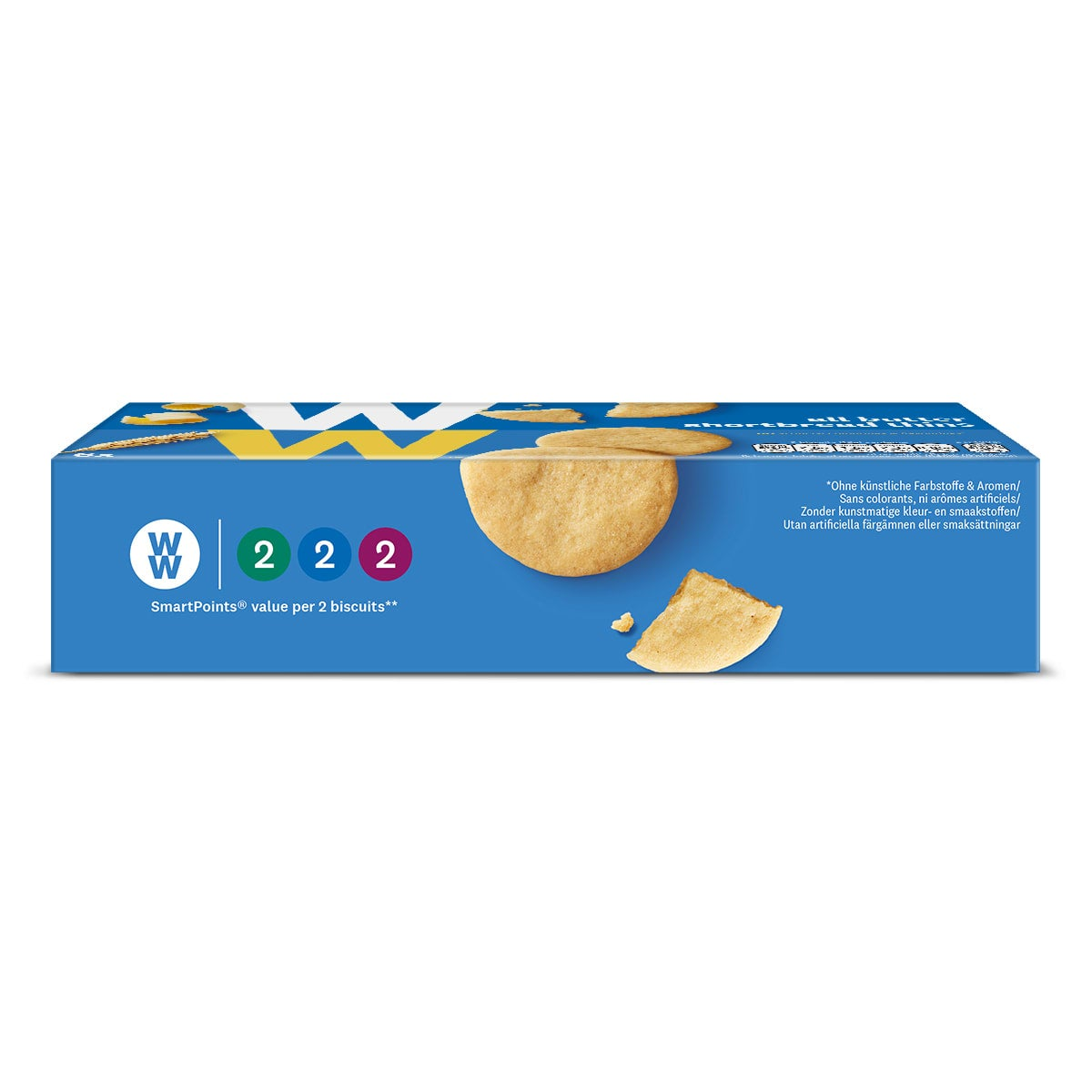 All Butter Shortbread Thins - side of pack 2