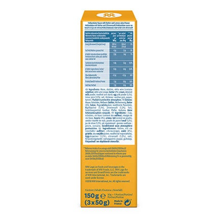 Hollandaise Sauce - back of pack