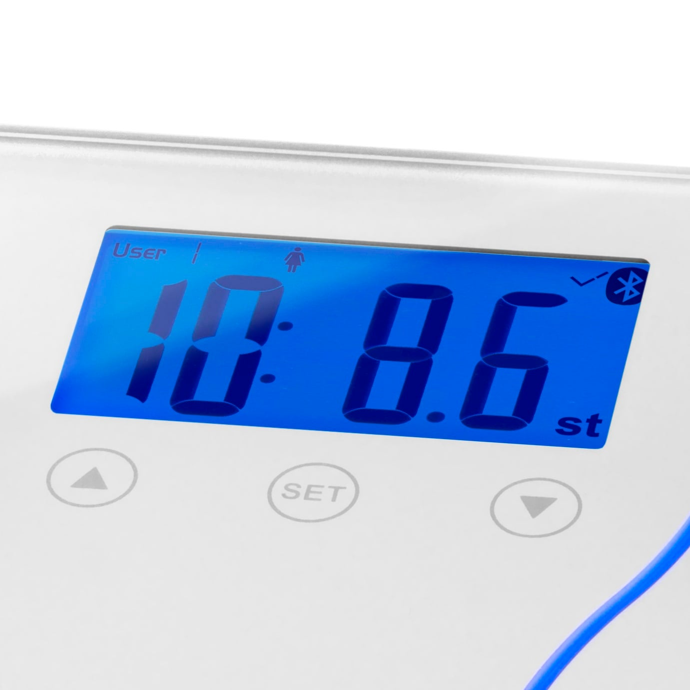 Bluetooth Scales display