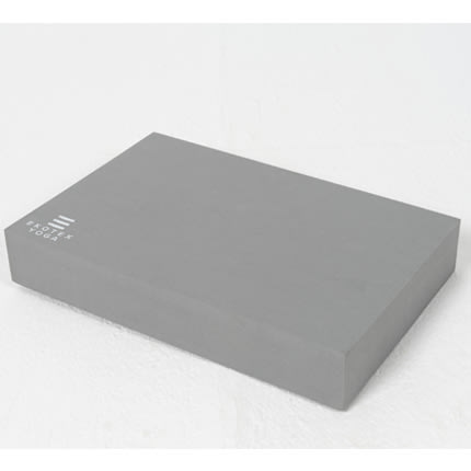 Ekotex - Recycled Foam Yoga Block in Storm Grey