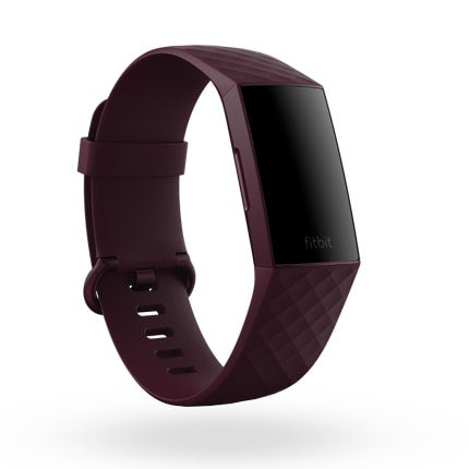 Fitbit Charge 4 - Rosewood display off