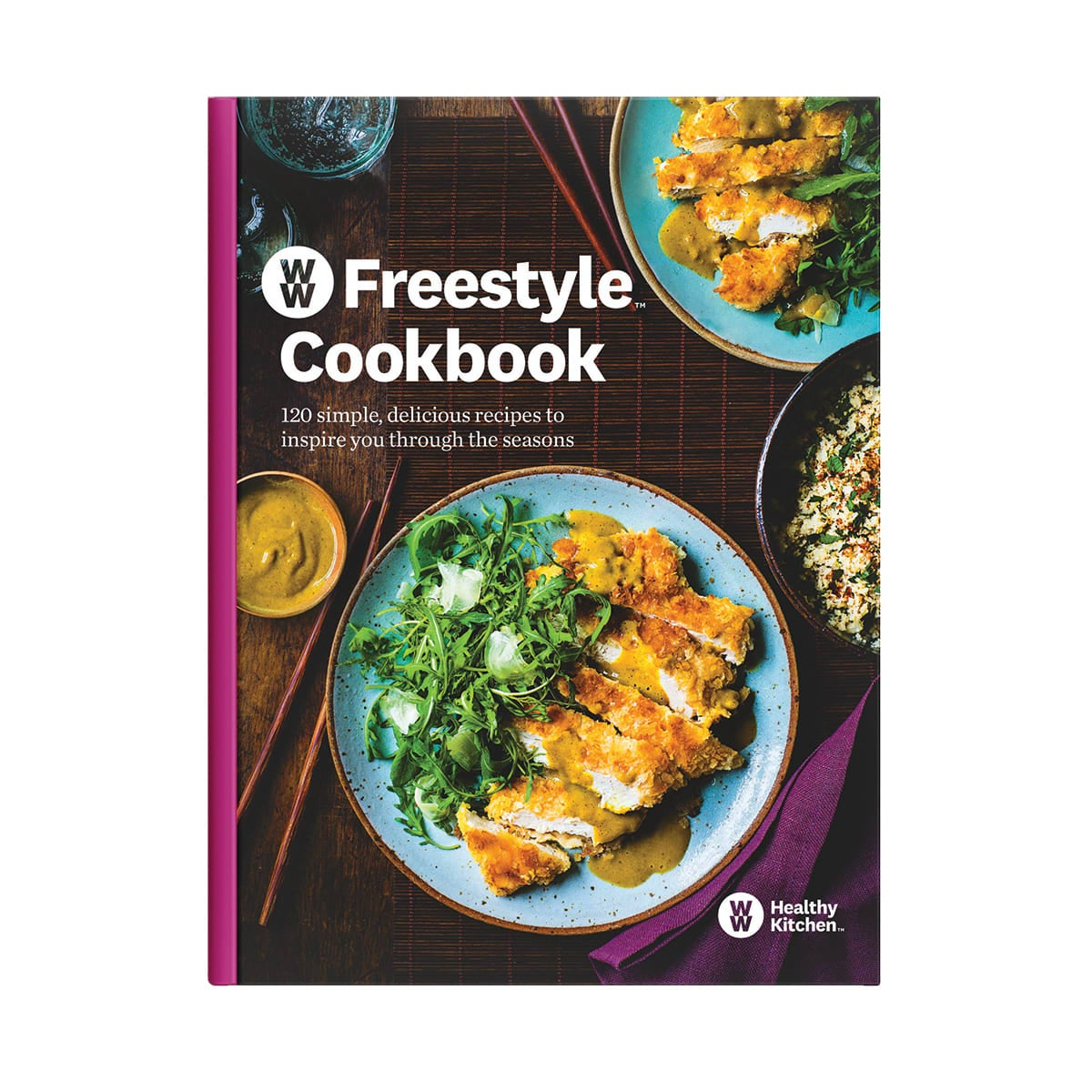 WW Freestyle Cookbook ,120 great-tasting recipes for all seasons, bright ideas, brilliant tips,main meals, breakfasts, snacks and desserts,