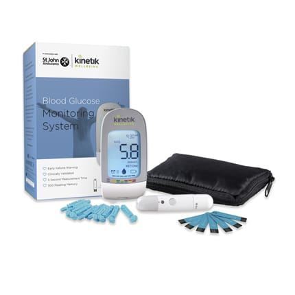 Kinetik - Blood Glucose Monitor pack