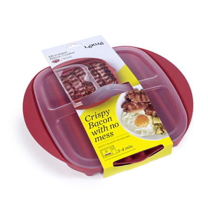 Microwave Bacon Cooker in packaging
