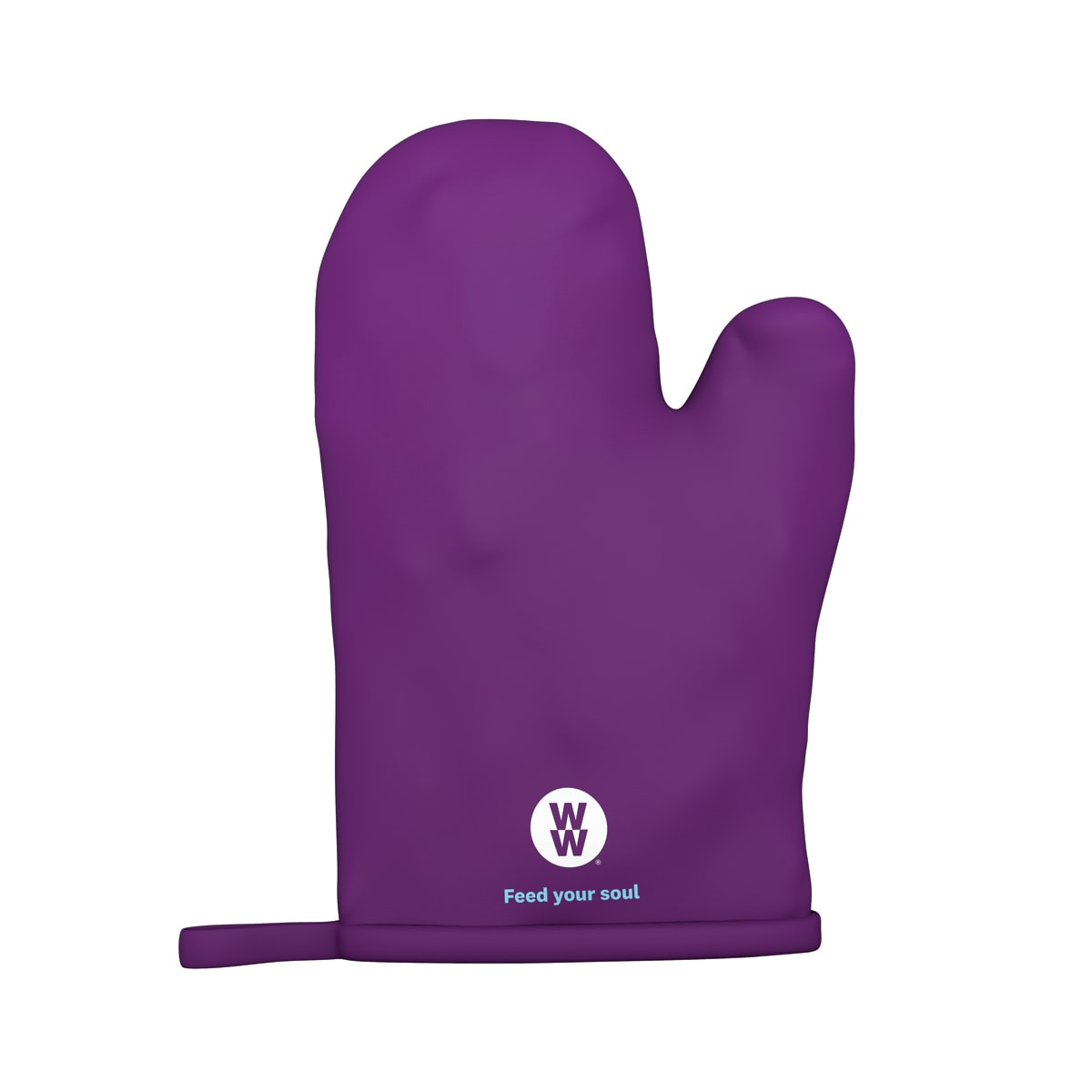 WW Oven Mitt, safeguard your hands, must-have kitchen accessory, 1 oven mitt, colour purple