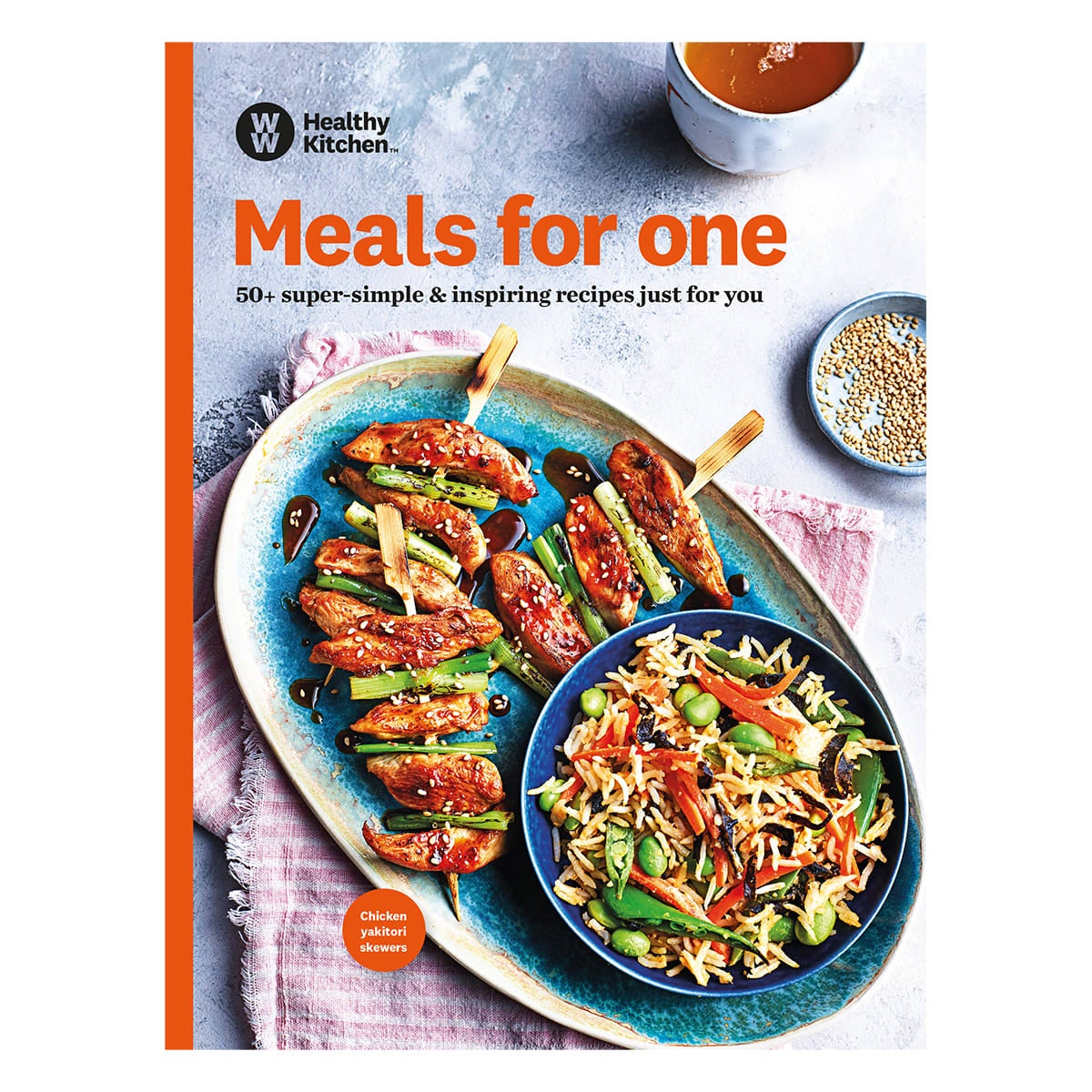 WW Meals for One Cookbooks, 54 single-serving recipes, fresh, healthy and easy to make, light bites and midweek meals