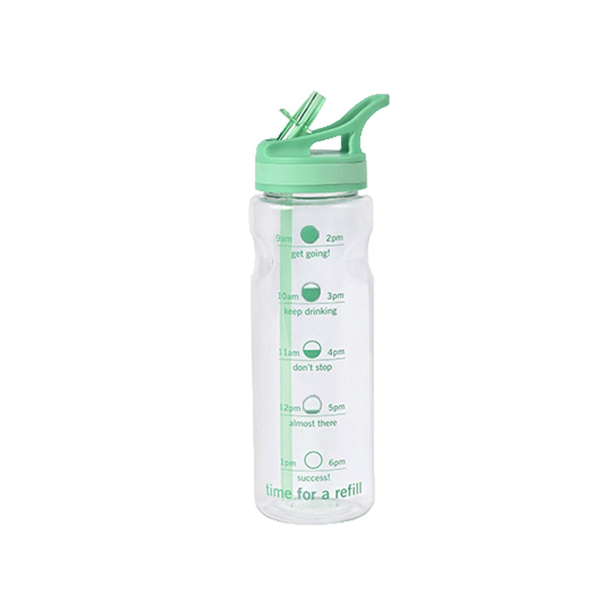 WW Water Tracking Bottle, keeps track of how much you've drunk, colour mint, helps stay hydrated