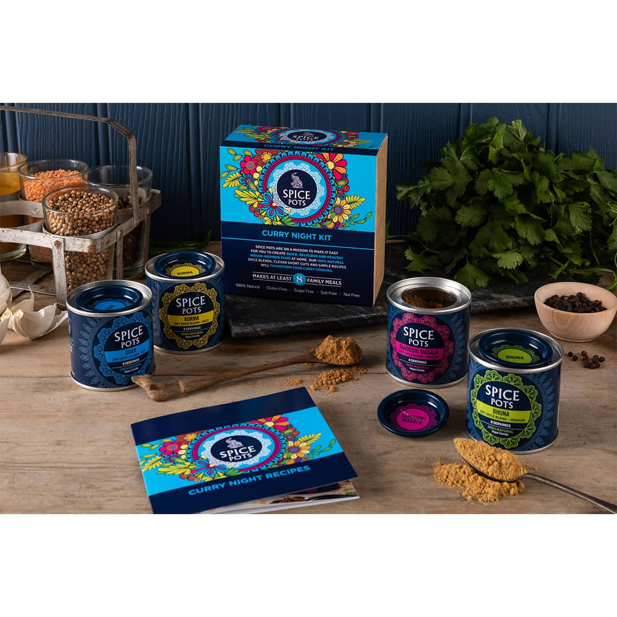 Spice Pots - Curry Night Kit lifestyle