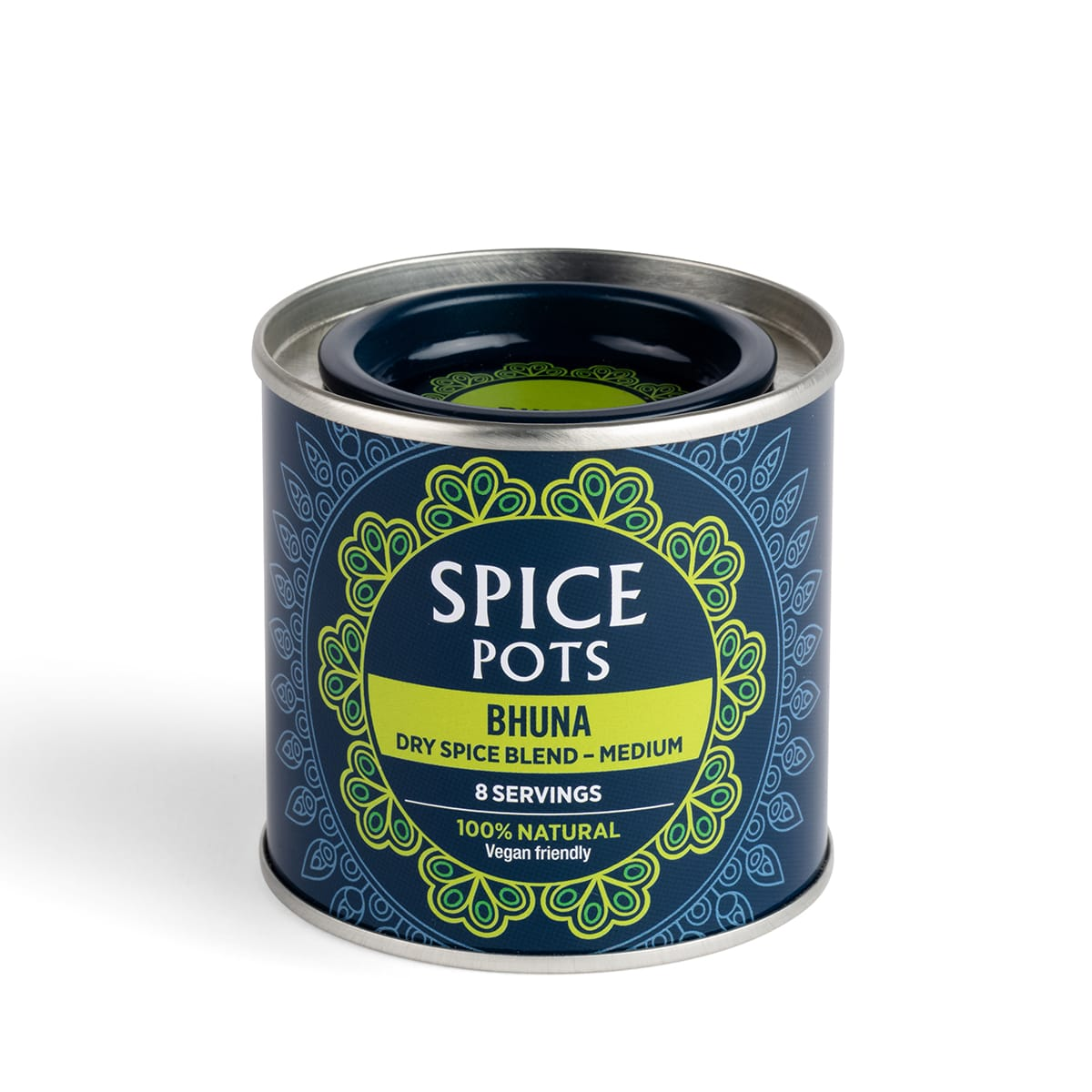 Spice Pots - Bhuna Curry Powder, medium in heat, balance of flavour and spice, no hassle and no fuss, 0 SmartPoints values, gluten free, suitable for vegans